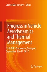 Cover Progress in Vehicle Aerodynamics and Thermal Management
