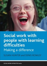 Cover Social work with people with learning difficulties