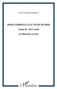 Cover Rose-gabrielle aux vents de mer, t. 2