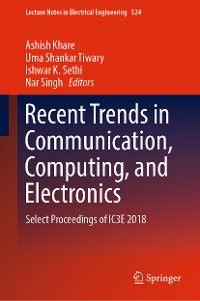 Cover Recent Trends in Communication, Computing, and Electronics