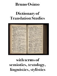 Cover Dictionary of Translation Studies