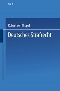 Cover Deutsches Strafrecht