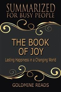 Cover The Book of Joy - Summarized for Busy People