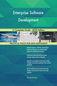 Cover Enterprise Software Development A Complete Guide - 2020 Edition
