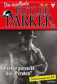 Cover Der exzellente Butler Parker 29 – Kriminalroman