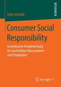 Cover Consumer Social Responsibility