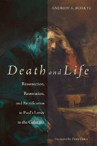 Cover Death and Life