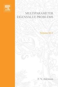 Cover Multiparameter eigenvalue problems