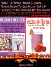 Cover Blender Recipes: 31 Juicing Blender Recipes For Clean Eating