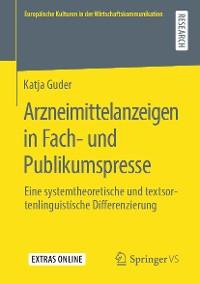 Cover Arzneimittelanzeigen in Fach- und Publikumspresse