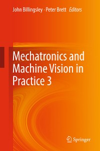 Cover Mechatronics and Machine Vision in Practice 3