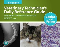 Cover Veterinary Technician's Daily Reference Guide