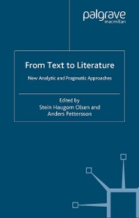 Cover From Text to Literature