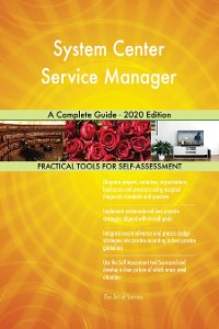 Cover System Center Service Manager A Complete Guide - 2020 Edition