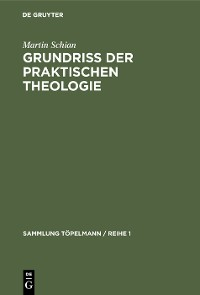 Cover Grundriß der praktischen Theologie