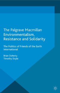 Cover Environmentalism, Resistance and Solidarity