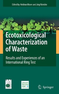 Cover Ecotoxicological Characterization of Waste
