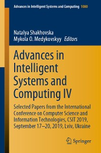 Cover Advances in Intelligent Systems and Computing IV