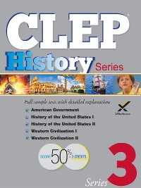 Cover CLEP History Series 2017