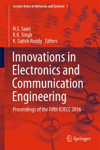 Cover Innovations in Electronics and Communication Engineering