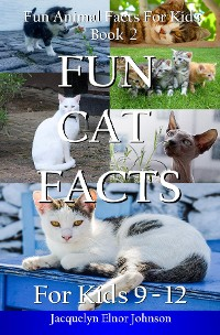 Cover Fun Cat Facts for Kids 9-12