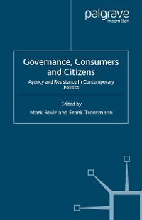 Cover Governance, Consumers and Citizens