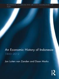 Cover Economic History of Indonesia