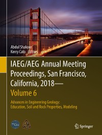 Cover IAEG/AEG Annual Meeting Proceedings, San Francisco, California, 2018—Volume 6