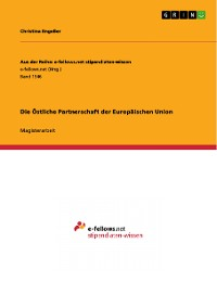Cover Die Östliche Partnerschaft der Europäischen Union