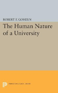 Cover The Human Nature of a University