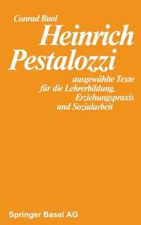 Cover Heinrich Pestalozzi