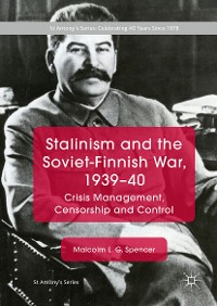 Cover Stalinism and the Soviet-Finnish War, 1939–40