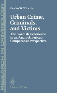 Cover Urban Crime, Criminals, and Victims