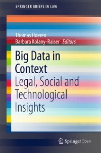 Cover Big Data in Context