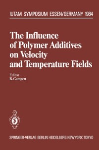 Cover Influence of Polymer Additives on Velocity and Temperature Fields