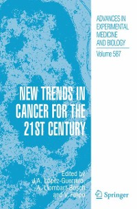 Cover New Trends in Cancer for the 21st Century