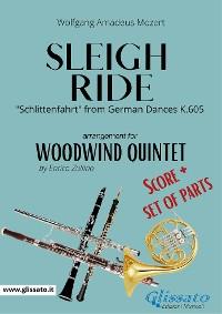 Cover Sleigh Ride - Woodwind Quintet score & parts