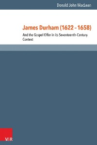 Cover James Durham (1622–1658)