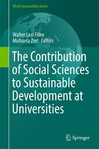 Cover The Contribution of Social Sciences to Sustainable Development at Universities