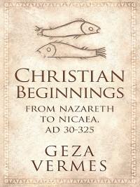 Cover Christian Beginnings