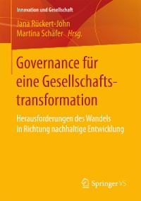 Cover Governance für eine Gesellschaftstransformation