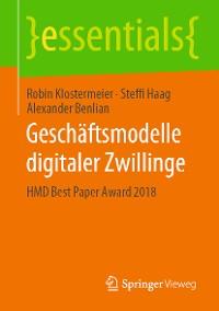 Cover Geschäftsmodelle digitaler Zwillinge