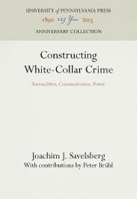 Cover Constructing White-Collar Crime