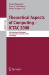 Cover Theoretical Aspects of Computing - ICTAC 2008