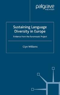 Cover Sustaining Language Diversity in Europe