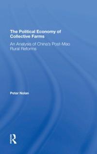 Cover Political Economy Of Collective Farms