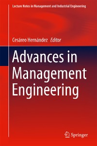 Cover Advances in Management Engineering