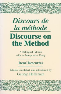 Cover Discours de La Methode/Discourse on the Method