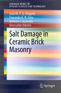 Cover Salt Damage in Ceramic Brick Masonry