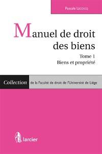 Cover Manuel de droit des biens